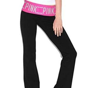 NWT Victoria's Secret Pink Classic Yoga Pants S